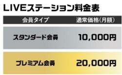 NOVA LIVE STATION料金